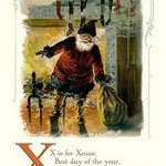 X is for Xmas - Art Print