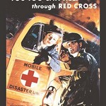 You Too Can Help Through Red Cross by Jes Schlaikjer - Art Print