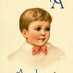 A for Andrew by Ida Waugh - Art Print