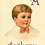 A for Anthony by Ida Waugh - Art Print
