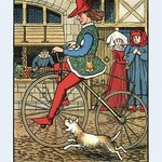 A Bicyclopaedia by J.E. Rogers - Art Print