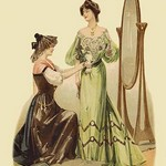 Adjusting the Gown - Art Print