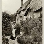 Ann Hathaway's Cottage by James Leon Williams - Art Print