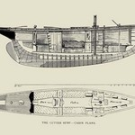 The Cutter Surf, Cabin Plans by Charles P. Kunhardt - Art Print