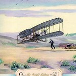The Wright Biplane, 1903 by Charles H. Hubbell - Art Print