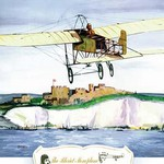 The Bleriot Monoplane, 1909 by Charles H. Hubbell - Art Print