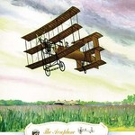 The Aeroplane, 1909 by Charles H. Hubbell - Art Print