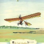The Grade Monoplane, 1909 by Charles H. Hubbell - Art Print