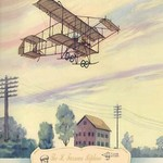 The H. Farman Plane, 1910 by Charles H. Hubbell - Art Print