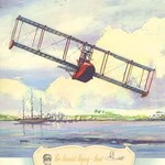The Benoist Flying Boat, 1914 by Charles H. Hubbell - Art Print