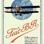 Fiat BR by C. Milano - Art Print
