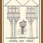 Elevated Grate Tower - Art Print