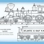 An Old-Time Engine: Sam Hill - Art Print