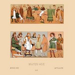 A Variety of Medieval Fashions by Auguste Racinet - Art Print
