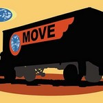 The Move Truck - Art Print