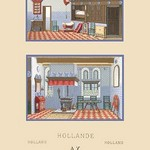 A Middle-Class Dutch Home by Auguste Racinet - Art Print