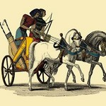 An Egyptian Chariot by John Gardner Wilkinson - Art Print