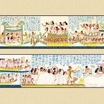 The Funeral Passing Over the Lake of the Dead by John Gardner Wilkinson - Art Print