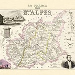 Bses Alpes by Par M. Vuillemin - Art Print