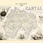 Cantal by Par M. Vuillemin - Art Print