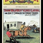 Wild West Weekly: Young Wild West's Lively Lasso - Art Print