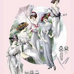 Album Blouses Nouvelles: With Hats and Parasols by Atelier Bachroitz - Art Print