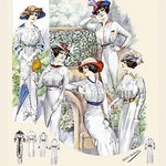Album Blouses Nouvelles: Five Ladies of Leisure by Atelier Bachroitz - Art Print