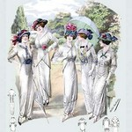 Album Blouses Nouvelles: For a Garden Party by Atelier Bachroitz - Art Print
