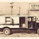 Kuhner Packing Company Truck - Art Print