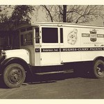 Hughes-Curry Packing Co. Truck - Art Print