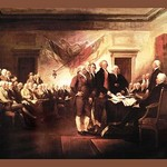 Declaration of Independence by John Trumbull #2 - Art Print