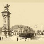 Alexander III Bridge - Art Print
