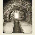 A Section of a Sewer in Paris by A. Pepper - Art Print