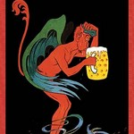 Biere au Diable by Eugene Oge - Art Print