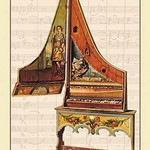 Clavicytherium, or Upright Spinet by Theodore Thomas - Art Print