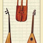 Welsh Creuth, Russian Balalaka by Theodore Thomas - Art Print