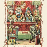 Alice in Wonderland: The King and Queen's Court by John Tenniel - Art Print