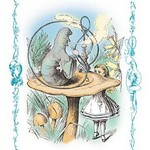 Alice in Wonderland: Advice from a Caterpillar by John Tenniel - Art Print
