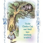 Alice in Wonderland: It's the Cheshire Cat by John Tenniel - Art Print