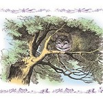 Alice in Wonderland: The Cheshire Cat by John Tenniel - Art Print