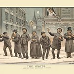 The Waits! by Tom Merry - Art Print