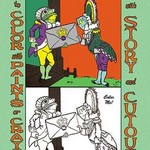 Alice in Wonderland: Frontman and Footman - Color Me! by John Tenniel - Art Print