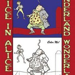Alice in Wonderland: Father William Balances an Eel - Color Me! by John Tenniel - Art Print