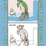 Alice in Wonderland: Mock Turtle - Color Me! by John Tenniel - Art Print