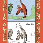Alice in Wonderland: Lobster - Color Me! by John Tenniel - Art Print