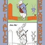 Alice in Wonderland: Late for an Important Date - Color Me! by John Tenniel - Art Print