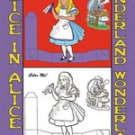 Alice in Wonderland: Drink Me - Color Me! by John Tenniel - Art Print