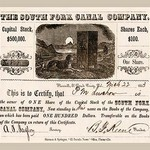 The South Fork Canal Company - Art Print