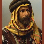 Bedouin Chief of Palmyra by Detroit Photographic Company - Art Print