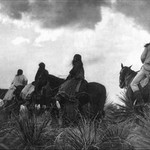 Before the Storm by Edward S. Curtis - Art Print